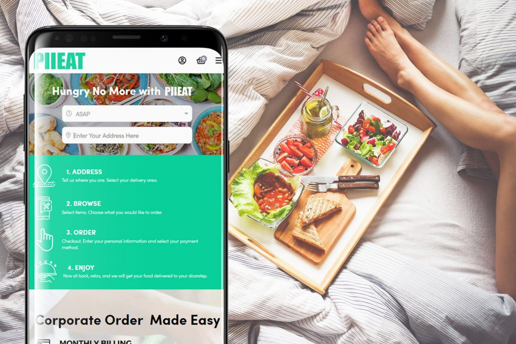 Pii Food Delivery Enabler - Total Food Ordering and Delivery